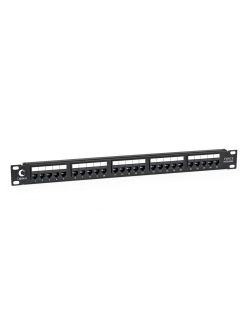 "Cabeus PL-25-TEL-Toolless Патч-панель 19"" (1U), 25 портов, RJ-11 (6P4C)"