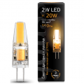 Лампа Gauss LED G4 AC220-240V 2W 2700K , 107707102, 276.00 руб., Лампа Gauss LED G4 AC220-240V 2W 2700K, Gauss, Капсульные лампы G4, G9
