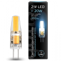 Лампа Gauss LED G4 AC220-240V 2W 4100K , 107707202, 276.00 руб., Лампа Gauss LED G4 AC220-240V 2W 4100K, Gauss, Капсульные лампы G4, G9